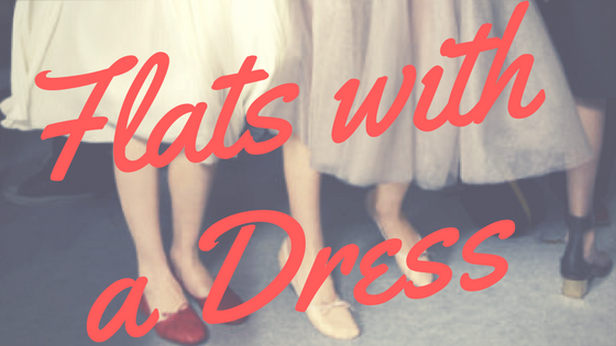 How to Wear Flats with a Dress